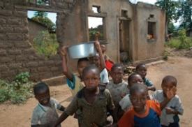 Street kids in Burundi