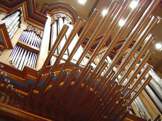 Opus 37 Brombaugh organ at the Toyota City Concert Hall
