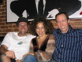 Phil Solomon, Diana Maria Riva and Cooper Thornton