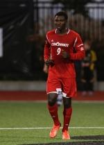 John Manga on the soccer field