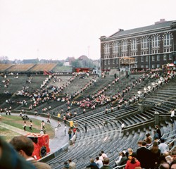 Nippert Stadium, 1969  photo/Beth Rosenberg Kauffman, Ed' 72