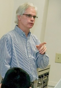 UC professor Robin Riley. photographer/Lisa Ventre