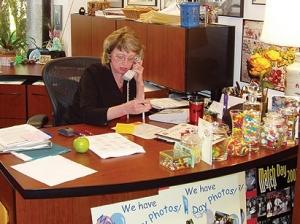 IvaDean's desk