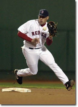 Former Bearcat Kevin Youkilis photo/Brian Babineau/Boston Red Sox