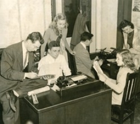 Old News Record photo