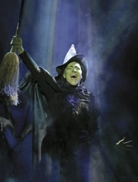 "Shoshanna Bean on Broadway in ""Wicked"""