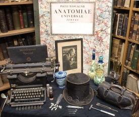 Miscellaneous artifacts in UC's Center for the History of the Health Professions at the Academic Health Center.