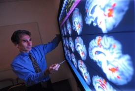 Robert Krikorian, MA (A&S) '80, PhD (A&S) '84, studies memory loss. photo/Dan Davenport