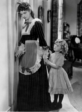 Evelyn Venable with Shirley Temple