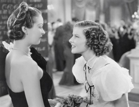 Evelyn Venable with Katharine Hepburn