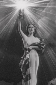A close-up of the Columbia Pictures logo.