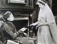 "Evelyn with an older lady in ""Double Door"" (1934)"