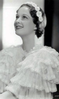 A closeup of Evelyn Venable in an early publicity shot.