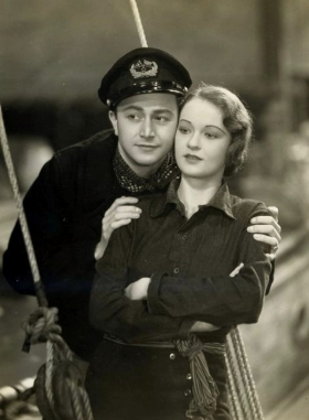 Evelyn Venable with Robert Young