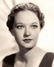 Evelyn Venable in 1934, looking quite like the Columbia logo.