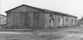 A barraks at the HASAG labor camp in Czestochowa.