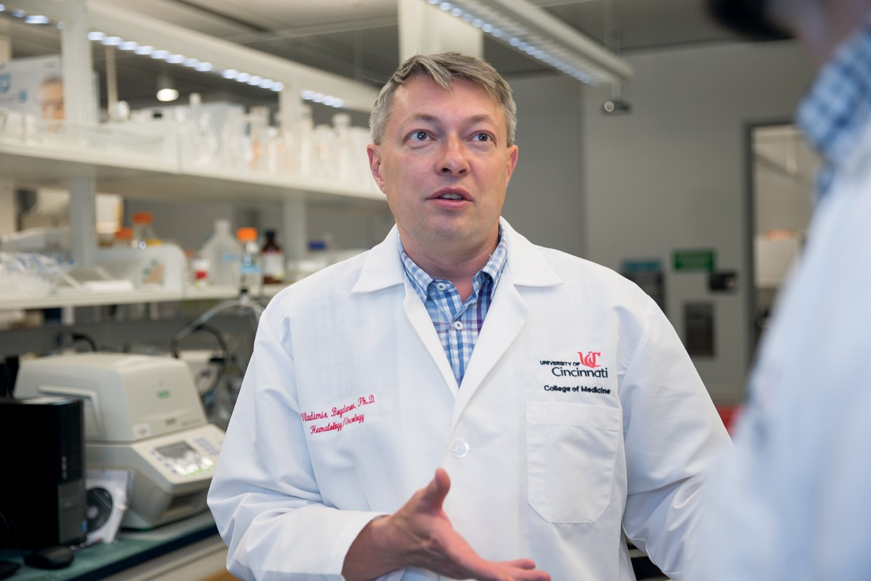 UC doctor and researcher Vladimir Bogdanov