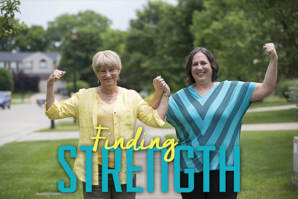 Finding Strength Graphic