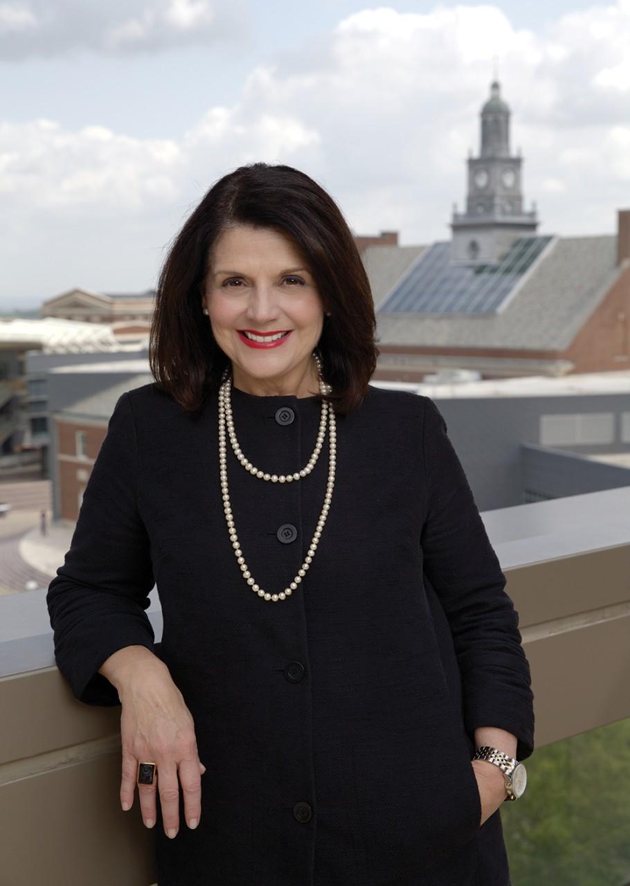 UC Interim President Beverly Davenport