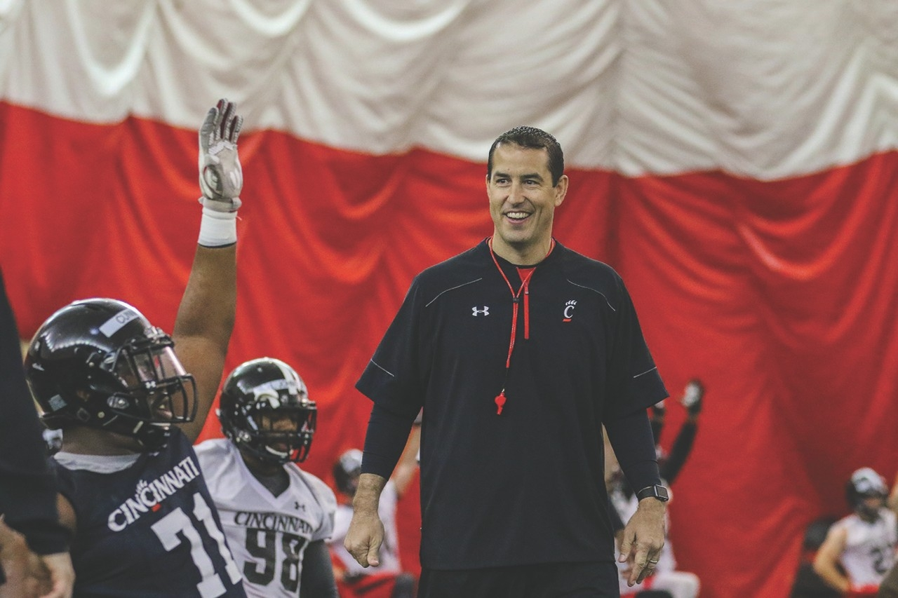 Football coach Luke Fickell