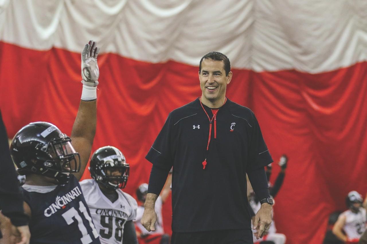 Football coach Luke Fickell