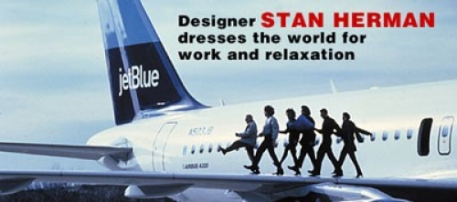 Stan Herman designs (Jet Blue)