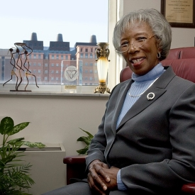 Jeannette Taylor at UC