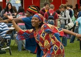 Worldfest dancer