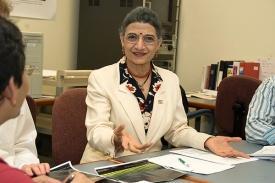 UC professor Urmila Ghia