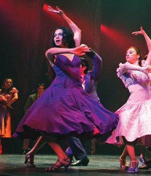 Karen Olivo dances