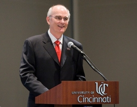 The University of Cincinnati hired Gregory Williams as its 27th president Sept. 9, 2009.