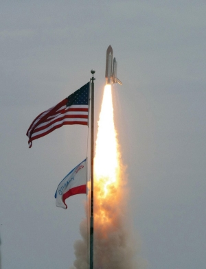 Atlantis became the final space shuttle to blast off in July 2011, becoming the program's 135th mission. photo/NASA