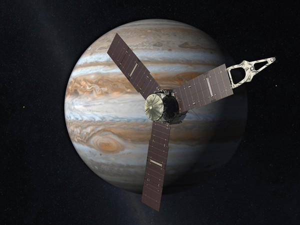 Artist rendering of Juno spacecraft
