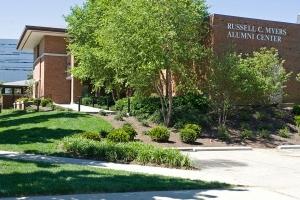 UC's Myers Alumni Center.