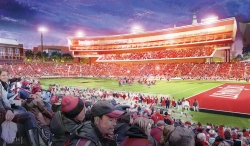 Rendering of Nippert Stadium