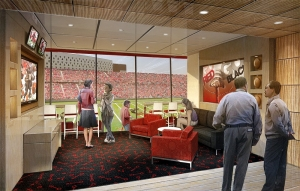 Rendering of the new Nippert Stadium