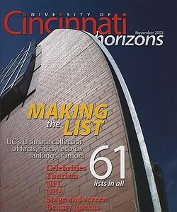 Making the list, November 2003