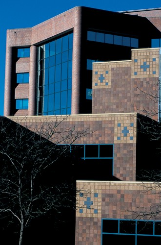 The UC Physicians Medical Arts Building incorporates a wide variety of interesting architectural elements.