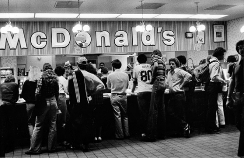 McDonalds at UC in 1980
