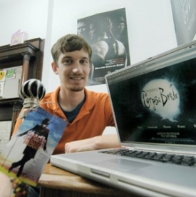 "Digital design student Tim King spent two quarters co-oping for Warner Brothers Pictures in New York City. King's work on the Web site for the movie ""Corpse Bride"" got the nod from director Tim Burton. Next, King hopes to co-op in Warner Brothers' London office."