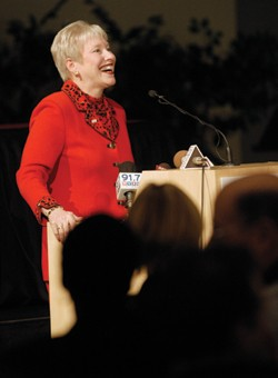President Nancy Zimpher