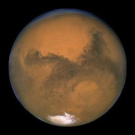 Picture of Mars from Hubble