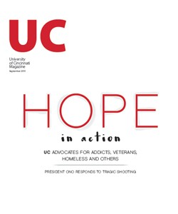UC Magazine Print Cover - April 2015