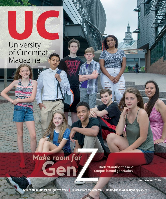 UC Magazine Cover Print - September 2016