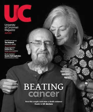 UC Magazine Cover Print - April 2018