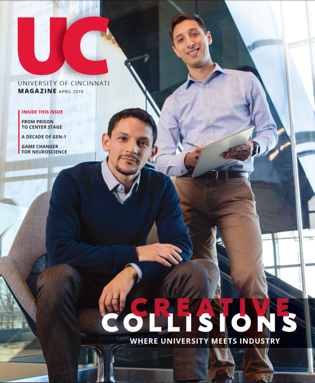 UC Magazine Cover Print - September 2018