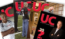 UC Magazine in Print