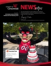 View of the February 2015 issue of UC news clips.