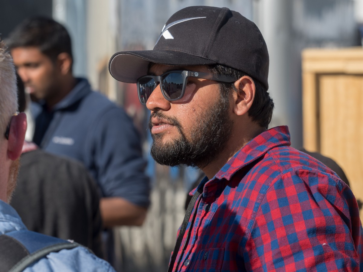 Hyperloop UC team captain Dhaval Shiyani said the team is struggling today with the news, but they are proud of the advances they've accomplished with their prototype. photos/Jay Yocis