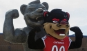 Bearcat Statue
